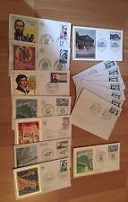 15 Timbres Enveloppe 1er Premier Jour FDC