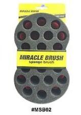 Wave Barbero Cepillo de Pelo Esponja Para Chiquillo Afro cepillo de esponja todo Grande # MSB02 B