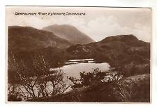 Dawrosmore River - Kylemore Connemara Real Photo Postcard c1920s