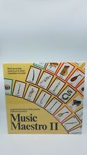 1988 MUSIC MAESTRO II Board Game of Musical Instruments Past & Present Rare! (O)