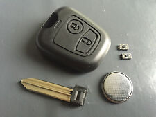 Repair KIT for Citroen Xsara Picasso Berlingo 2 button remote key case switches