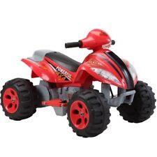 Quad Elettrico Per Bambini Mini Moto 4 Ruote X Power 6V Rosso