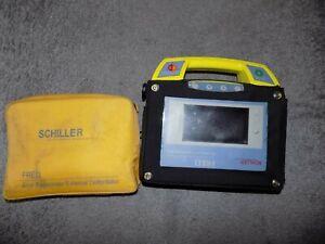 FRED SCHILLER FIRST RESPONDER EXTERNAL Defibrillator with Case Electrodes PADS