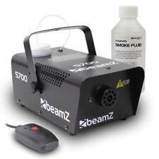 Beamz Smoke Fog Machine + Fog Fluid Party Atmospherics Effects 700W