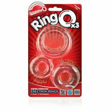 Screaming O RingO x3 Silicone Stretchy Donut Cock Ring Penis Erection Enhancer