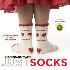 Lion Brand Yarn: Just Socks,Edited by Shannon Okey