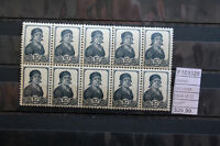 STAMPS OLD RUSSIA BLOCK OF 10 MNH** (F103328)