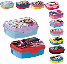LUNCH BOX Merenda colazione porta PRANZO MERENDA sandwich scuola, bambini