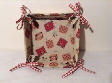 Kitchen Storage Fabric Basket -  Bread Rolls, Eggs