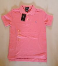 RALPH LAUREN BOYS SS CLASSIC POLO PINK 6 T RRP £45 NOW £23.50
