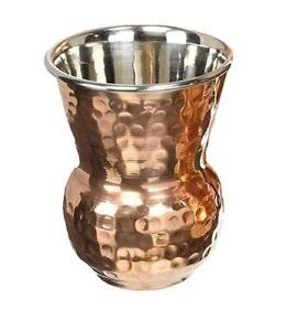 Indian Cuisine Classical Copper glass Copper Tumbler Cocktail Lassi Glass