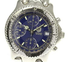 TAG HEUER Sel CG2111-R0 Chronograph blue Dial Automatic Men's Watch_536735