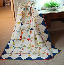 NEW Gentle Winds Quilt Pattern Crib Twin Baby~Beginner to Advanced~Scrappy~#417