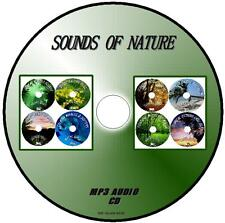 Sonidos De Naturaleza Mp3 Cd 8 temas relajantes Birdsong Selva Jungla ballenas Dophin +