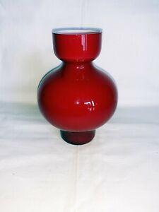 Per Lütken Glasvase 'Cornaby', Holmegaard, Dänemark, 60er