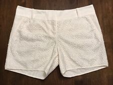 THE LIMITED *SIZE 10* CREAM LACE SHORTS *NEW*