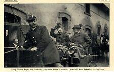 König Friedrich August v. Sachen * Gut Bukowine in Schlesien * Bilddokument 1905