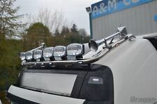 Per adattarsi 2013+ VOLVO FH4 Globetrotter STEEL Roof Bar Barra luminosa + LED a filo x7