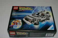 Lego Cuusoo Back To The Future Delorean 21103 Complete set