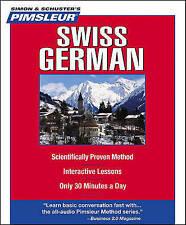 Swiss German by Pimsleur (CD-Audio)