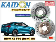 "BMW X6 F16 disc rotor KAIDON (front) type ""RS"" spec"