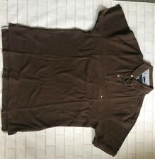 tommy hilfiger t shirt polo mens medium brown
