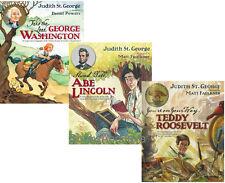 Take Lead George Washington,Abe Lincoln,Teddy Roosevelt by Judith St George