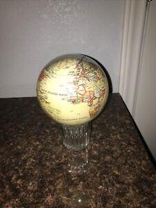 """Political Map Yellow MOVA Globe 4.5"""""""
