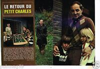Coupure de presse Clipping 1977 (2 pages) Charles Aznavour