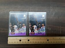 LOT OF 2 SHAQUILLE O'NEAL 1993-94 TSC TOPPS STADIUM CLUB BEAM TEAM MEMBERS ONLY