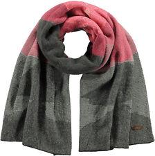 Barts Scarf AUTUMN Scarf rose rosa grau oversized Einheitsgröße Schal Tuch Mütze