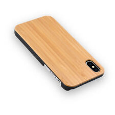 Shockproof Vintage Natural Wood Bamboo Case Cover For iPhone X 8 7 6 6s Plus