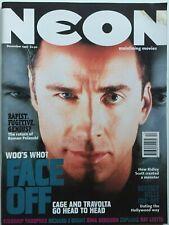 JOHN TRAVOLTA / NICK CAGE 1997 NEON Magazine GINA GERSHON / RAY LIOTTA / ALIEN