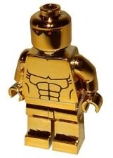 **NEW** LEGO Custom Printed AMAZO CHROME GOLD - DC Universe Minifigure