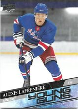 20-21 2020-21 UD Alexis LaFreniere-GRADE THIS ROOKIE-Young Guns #201-Rangers