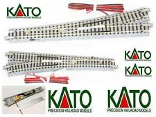 KATO 20-202 N.1 EXCHANGE ELECTRICAL LEFT 15° R718 + ROADBED and cable LADDER-N