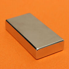 N52 Grade Strong Magnet Rare Neodymium Powerful Magnets Block 50mm X 25mm X 10mm