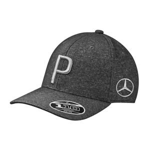 "Mercedes Benz Unisex Golf Baseball Cap Anthracite/Black "" Rickie Fowler "" Nip"