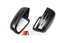 Replacement Matte Carbon Fiber Side Mirror Cover for Mercedes C E S CLA CLS GLK