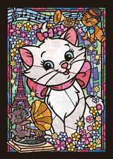 Disney Marie Cat 266 pcs Jigsaw Puzzle Stained Glass Art Plastic
