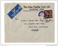 GB 1940 Airmail Advertising Cover to UK X2145
