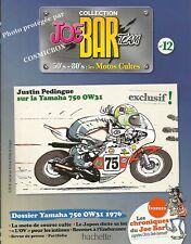 Joe Bar Team BD revue moto YAMAHA 750 OW31 & YZF R7 Japan motor bike booklet 12