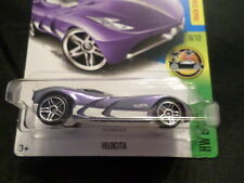 HW HOT WHEELS 2017 HW EXOTICS #8/10 VELOCITA PURPLE HOTWHEELS VHTF