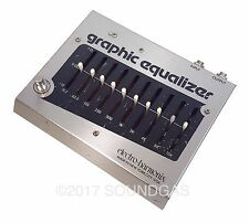 ELECTRO-HARMONIX GRAPHIC EQUALIZER Vintage Guitar Effect Pedal EHx EQ