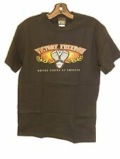 Men's Victory Motorcycle Freedom T-shirt In Black (Size Small) NWT