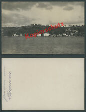 Photo Constantinople Bosphore Anadolu Hisarı Orient Ottomans turquie Istanbul 1915