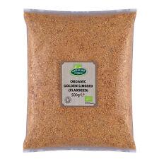 Organic Golden de lin (Lin) 500 G Certified Organic