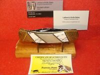 SCHRADE 507SC LARGE LOCK BACK PEARL CUSTOM KNIFE PAINTED PONY MICHAEL PRATER