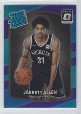 JARRETT ALLEN 2017-18 Donruss Optic RATED ROOKIES RC PURPLE PRIZM #179 Nets