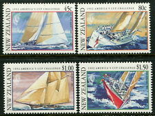 NEW ZEALAND - 1992 'CHALLENGE FOR AMERICA'S CUP' Set x 4 MNH SG1655-1658 [B3685]